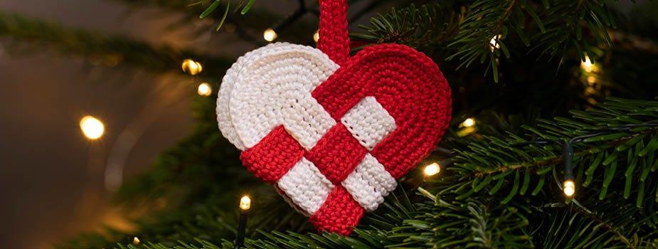 Klassische Weihnachtsdeko