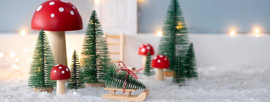 Der Wichtel-Alltag als magische Weihnachtsszenerie