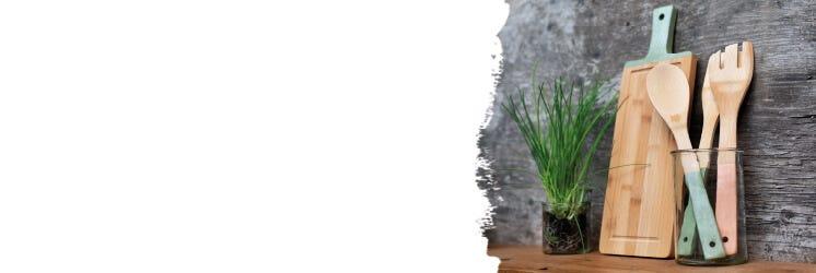 Home-Deko aus Bambus