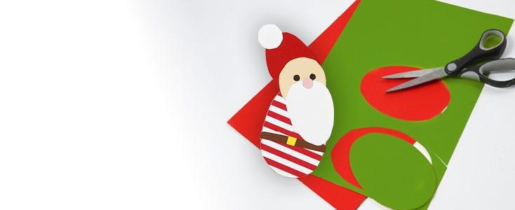 Weihnachtsdeko mit Schablonen