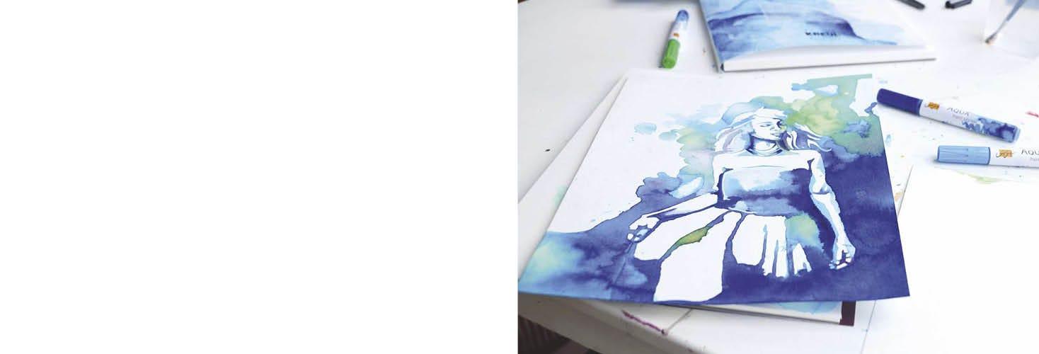 Malen mit Aquarell