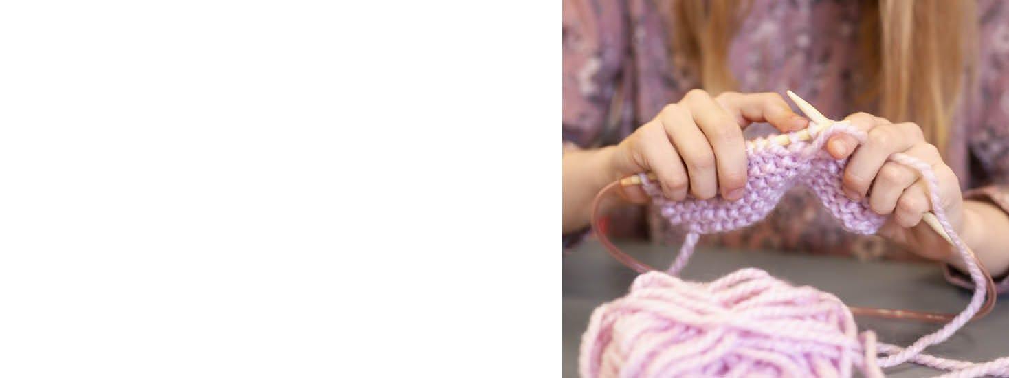 Nähen und Stricken für Kinder