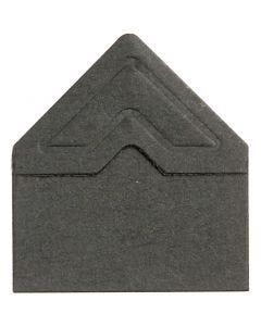 Fotoecken , B: 10 mm, 110 g, Schwarz, 108 Stck./ 1 Pck.