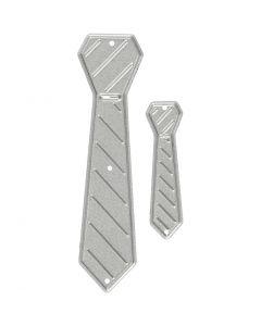 Stanz- und Prägeformen, Krawatte, Größe 26x99+9x35 mm, 1 Stck.
