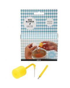 Ausblasgerät für Eier, 1 Set