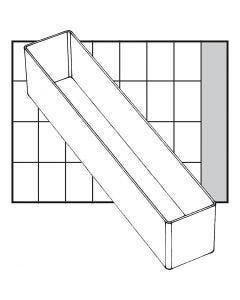 Einsetz-Box, Nr. A9-4, H: 47 mm, Größe 218x39 mm, 1 Stck.