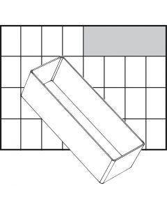 Einsetz-Box, Nr. A8-2, H: 47 mm, Größe 157x55 mm, 1 Stck.