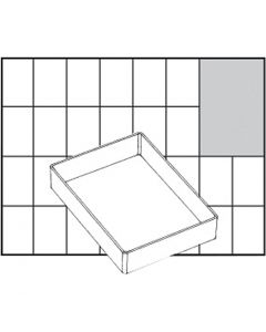 Einsetz-Box, Nr. A71 Low, H: 24 mm, Größe 109x79 mm, 1 Stck.