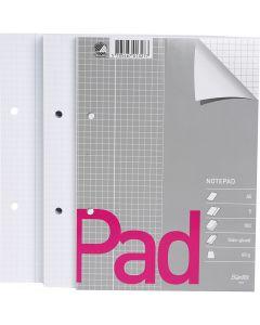 Schreibpapierblock, kariert, A5, 150x210 mm, 60 g, 5 Stck./ 1 Pck.