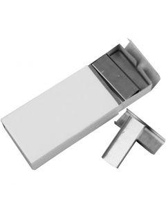 Heftklammern, B: 12 mm, Größe 24/6 , 10x1000 Stck./ 1 Pck.