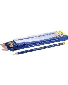 Robinson Bleistifte, D: 6,8 mm, Stärke HB, Mine 2 mm, 12 Stck./ 1 Pck.
