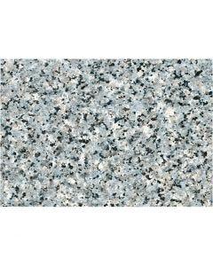 Selbstklebende Folie, Granit grob, B: 45 cm, Grau, 2 m/ 1 Rolle