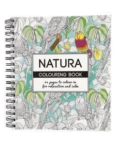 Antistress-Malbuch, Natur, Größe 19,5x23 cm, 64 , 1 Stck.