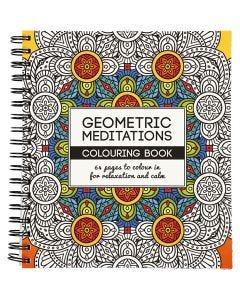 Antistress-Malbuch, Geometrisch, Größe 19,5x23 cm, 64 , 1 Stck.