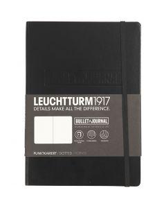 "Notizbuch - ""Bullet Journal"", A5, Stärke: 2 cm, 240 , Schwarz, 1 Stck."