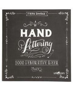 "Inspirationsheft ""Hand Lettering"", Größe 22x23 cm, Stärke: 2 cm, 143 , 1 Stck."