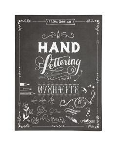 "Übungsheft ""Hand Lettering"", Größe 21x28 cm, Stärke: 1 cm, 63 , 1 Stck."