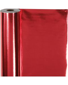 Geschenkpapier, B: 50 cm, 65 g, Rot, 100 m/ 1 Rolle