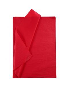 Seidenpapier, 50x70 cm, 14 g, Rot, 10 Bl./ 1 Pck.