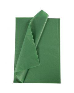 Seidenpapier, 50x70 cm, 14 g, Grün, 10 Bl./ 1 Pck.