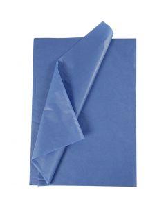 Seidenpapier, 50x70 cm, 14 g, Blau, 10 Bl./ 1 Pck.