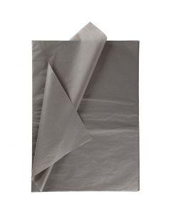 Seidenpapier, 50x70 cm, 14 g, Dunkelgrau, 10 Bl./ 1 Pck.