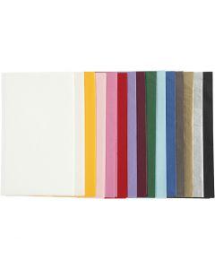 Seidenpapier, 50x70 cm, 14 g, Sortierte Farben, 15x2 Bl./ 1 Pck.