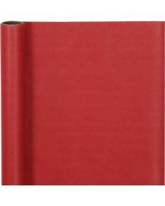 Geschenkpapier , B: 50 cm, 60 g, Rot, 5 m/ 1 Rolle