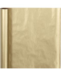 Geschenkpapier , B: 50 cm, 60 g, Gold, 5 m/ 1 Rolle