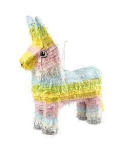 Piñata, Größe 39x13x55 cm, Pastellfarben, 1 Stck.