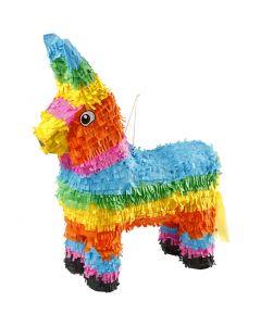 Piñata, Größe 39x13x55 cm, Kräftige Farben, 1 Stck.