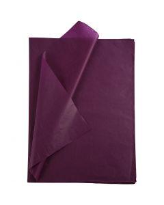 Seidenpapier, 50x70 cm, 14 g, Bordeaux, 25 Bl./ 1 Pck.