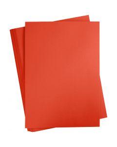 Karton, farbig, A2, 420x600 mm, 180 g, Signalrot, 100 Bl./ 1 Pck.