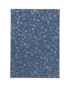 Papier, A4, 210x297 mm, 80 g, Blau, 20 Bl./ 1 Pck.