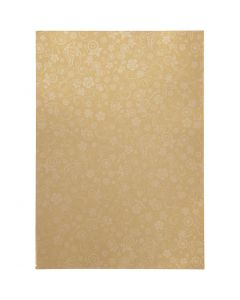 Papier, A4, 210x297 mm, 80 g, Gold, 20 Bl./ 1 Pck.