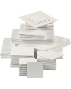 Leinwandplatte, 280 g, Weiß, 110 Stck./ 1 Pck.