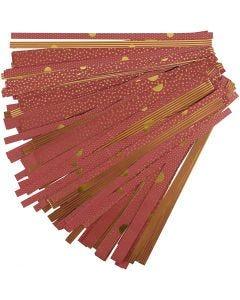Papierstreifen für Fröbelsterne