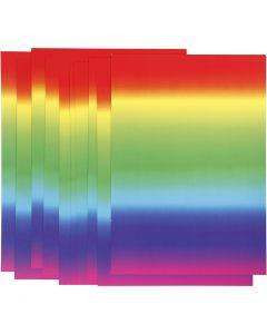 Regenbogen-Papier, A4, 210x297 mm, 180 g, 10 Bl./ 1 Pck.