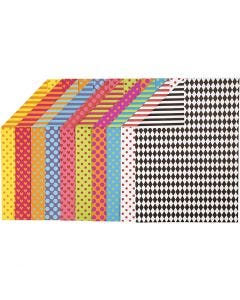 Colortime FarbKarton, A4, 210x297 mm, 250 g, Sortierte Farben, 20 Bl. sort./ 1 Pck.
