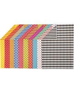 Colortime FarbKarton, A4, 210x297 mm, 250 g, Sortierte Farben, 200 Bl. sort./ 1 Pck.