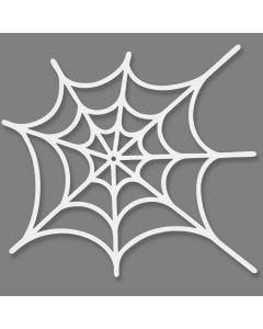 Spinnennetz-Stanzform, Größe 19x21 cm, 230 g, Weiß, 16 Stck./ 1 Pck.