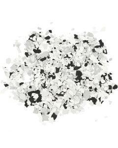 Terrazzo-Flocken, Schwarz, 90 g/ 1 Dose