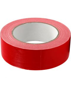 Isolierband, B: 38 mm, Rot, 25 m/ 1 Rolle