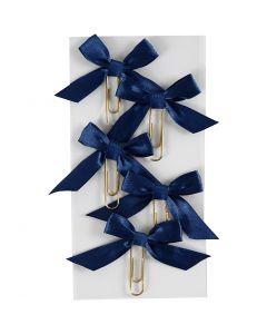 Metallklammern, Größe 40x70 mm, Blau, 5 Stck./ 1 Pck.