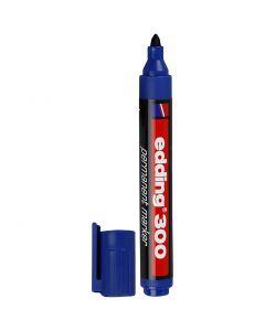 edding 300 Marker, Strichstärke 1,5-3 mm, Blau, 1 Stck.