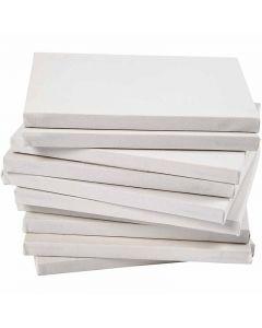 Keilrahmen, Tiefe 1,6 cm, A4, Größe 21x29,7 cm, 280 g, Weiß, 40 Stck./ 1 Pck.