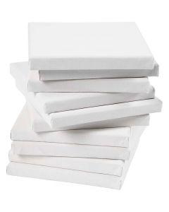 Keilrahmen, Größe 15x15 cm, 280 g, Weiß, 80 Stck./ 1 Pck.