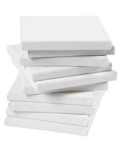 Keilrahmen, Größe 20x20 cm, 280 g, Weiß, 80 Stck./ 1 Pck.