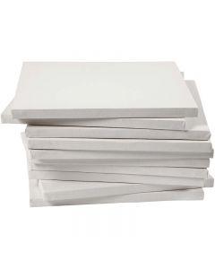 Keilrahmen, Tiefe 1,6 cm, Größe 30x30 cm, 280 g, Weiß, 40 Stck./ 1 Pck.