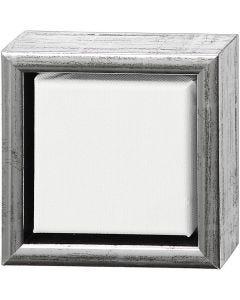 ArtistLine Künstlerleinwand mit Rahmen, Tiefe 3 cm, Größe 14x14 cm, 360 g, Weiß, 6 Stck./ 1 Pck.